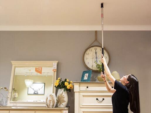 电锤吊顶已经淘汰了,现在流行这样的新工具